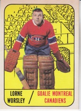 1967-68 Topps Hockey set