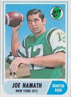 1968 Topps NFL/AFL Football Set