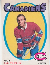 1971-72 O Pee Chee Hockey set