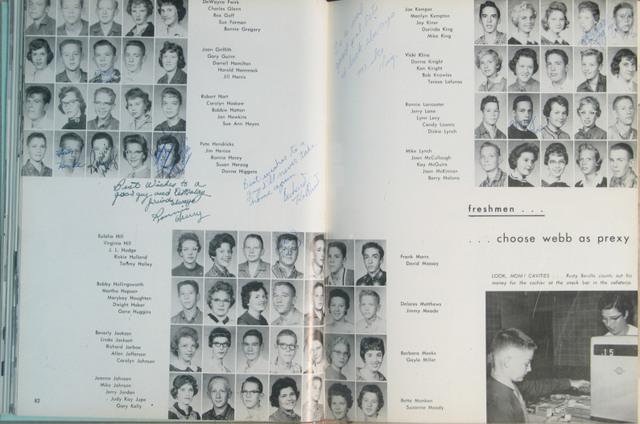 Las Memorias 1959-60 (freshman yr)