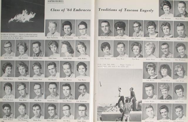 Las Memorias 61- 62 (junior year)