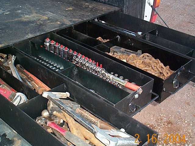 Viewing a thread - Road service tool boxes