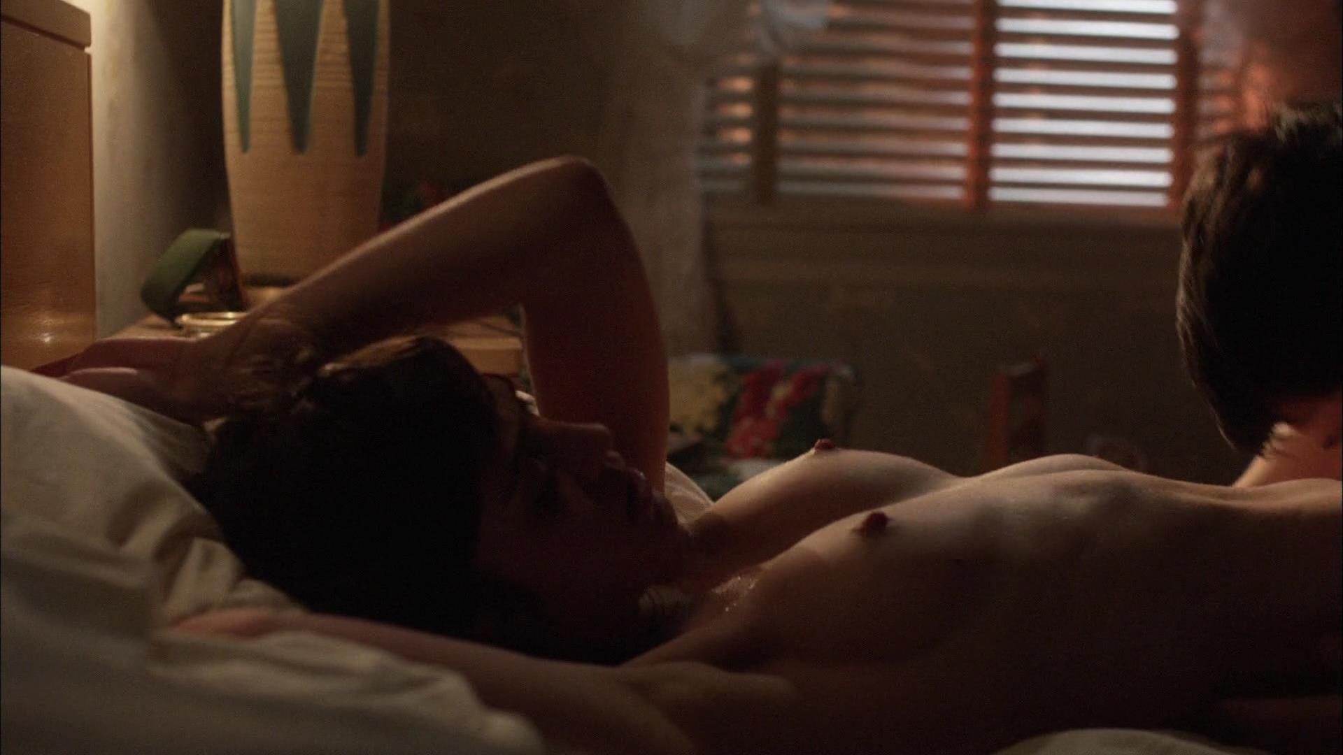 Lizzy caplan masters of sex scenes