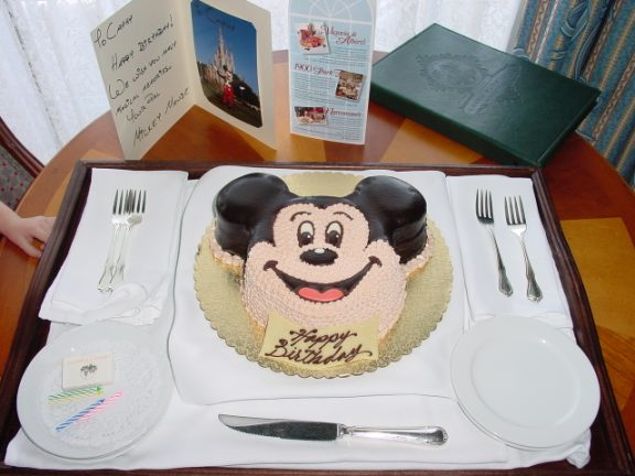 Pic Of A 6 Or 8 Inch Grand Floridian Cake