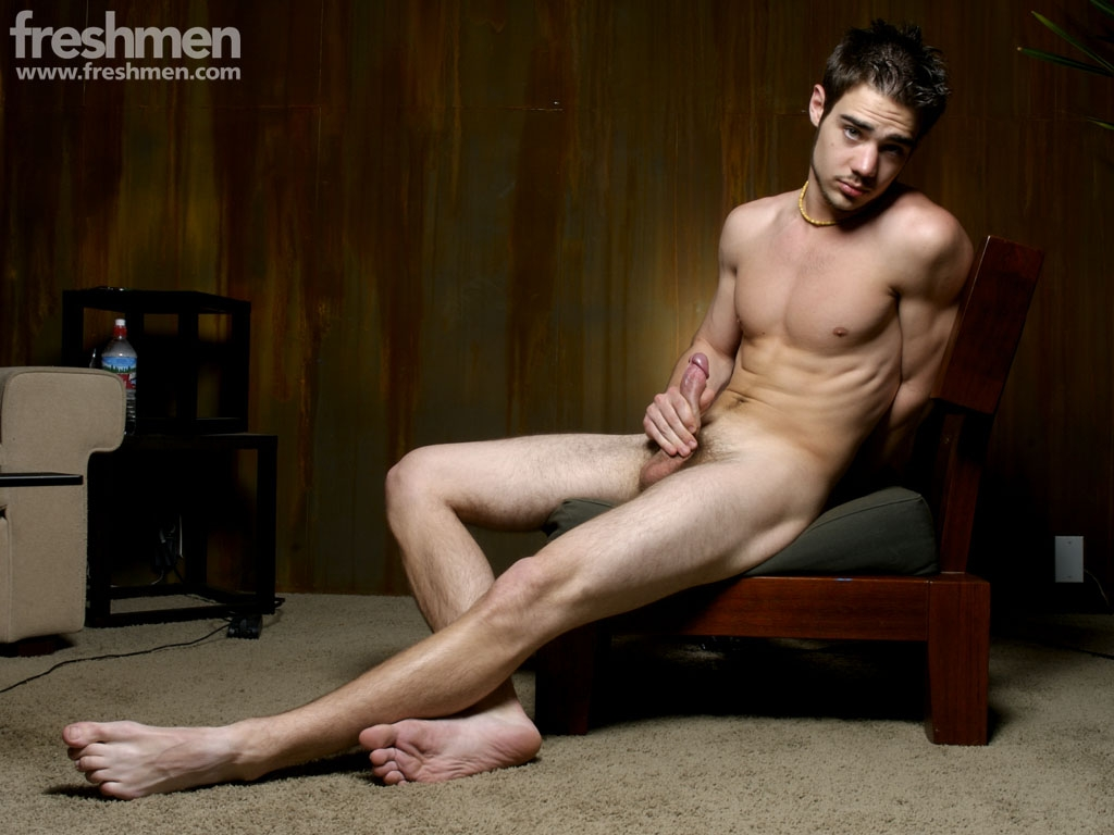 image Zack randall has a private wank session in the closet