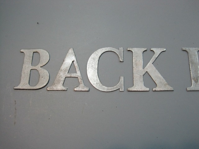 how to emboss lettering into sheet metal hot rod forum With sheet metal letters