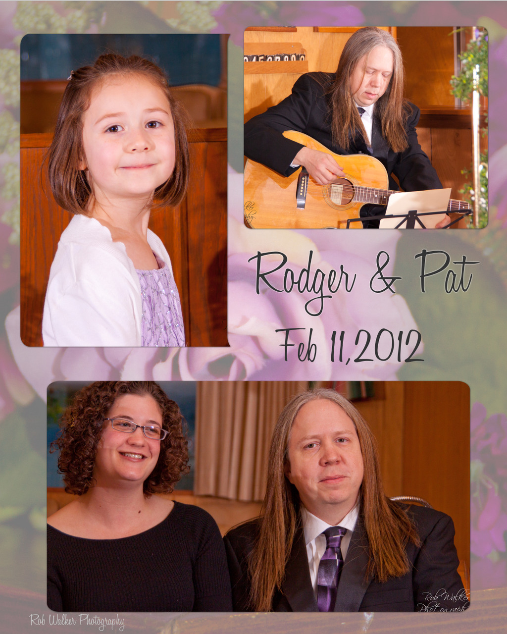 Rodger Hooker Wedding