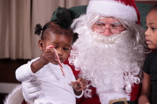 Santa Claus at the Chamber of Commerce