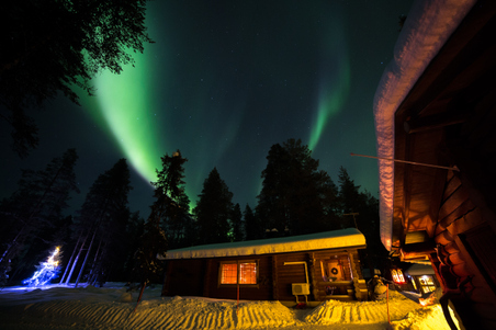 Northern Lights on New Year's Eve