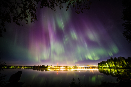 Northern Lights in Autumn 2014