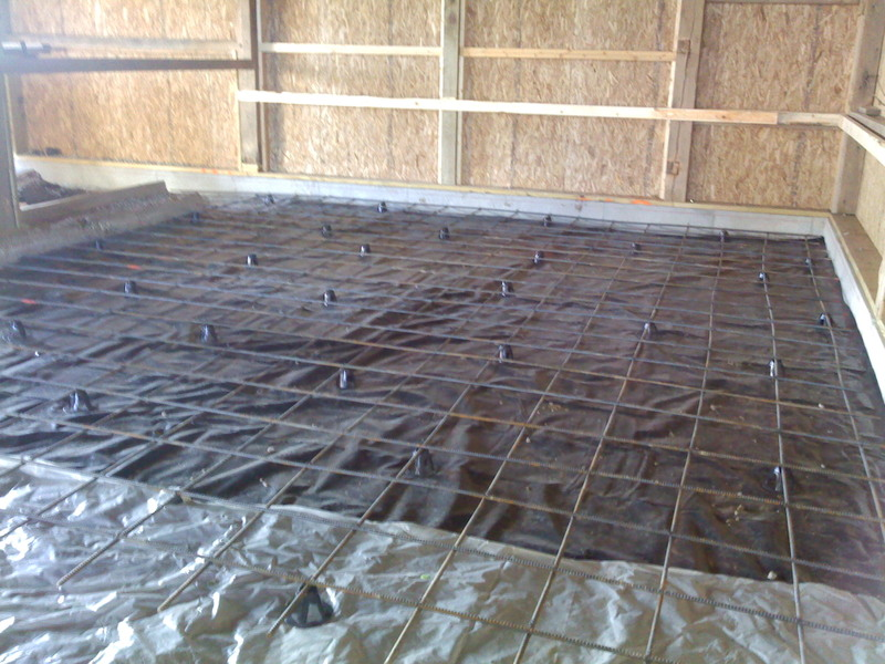 Pole Barn Slab Floor : Viewing a thread old school barn remodel picture intense