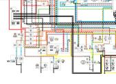 Scorpio sr i600se on vmx17 euro wiring diagram clearly showing the preinstallation wiring harness and the oem alarm item 101 the bike comes without the alarm but can be purchased asfbconference2016 Choice Image