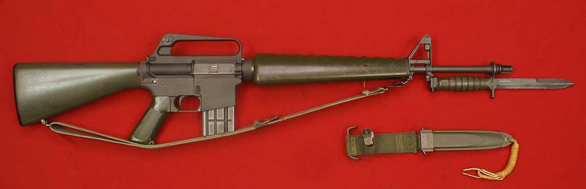 Photo 1 Of 65 Colt Armalite Model 601 Af Amp Army