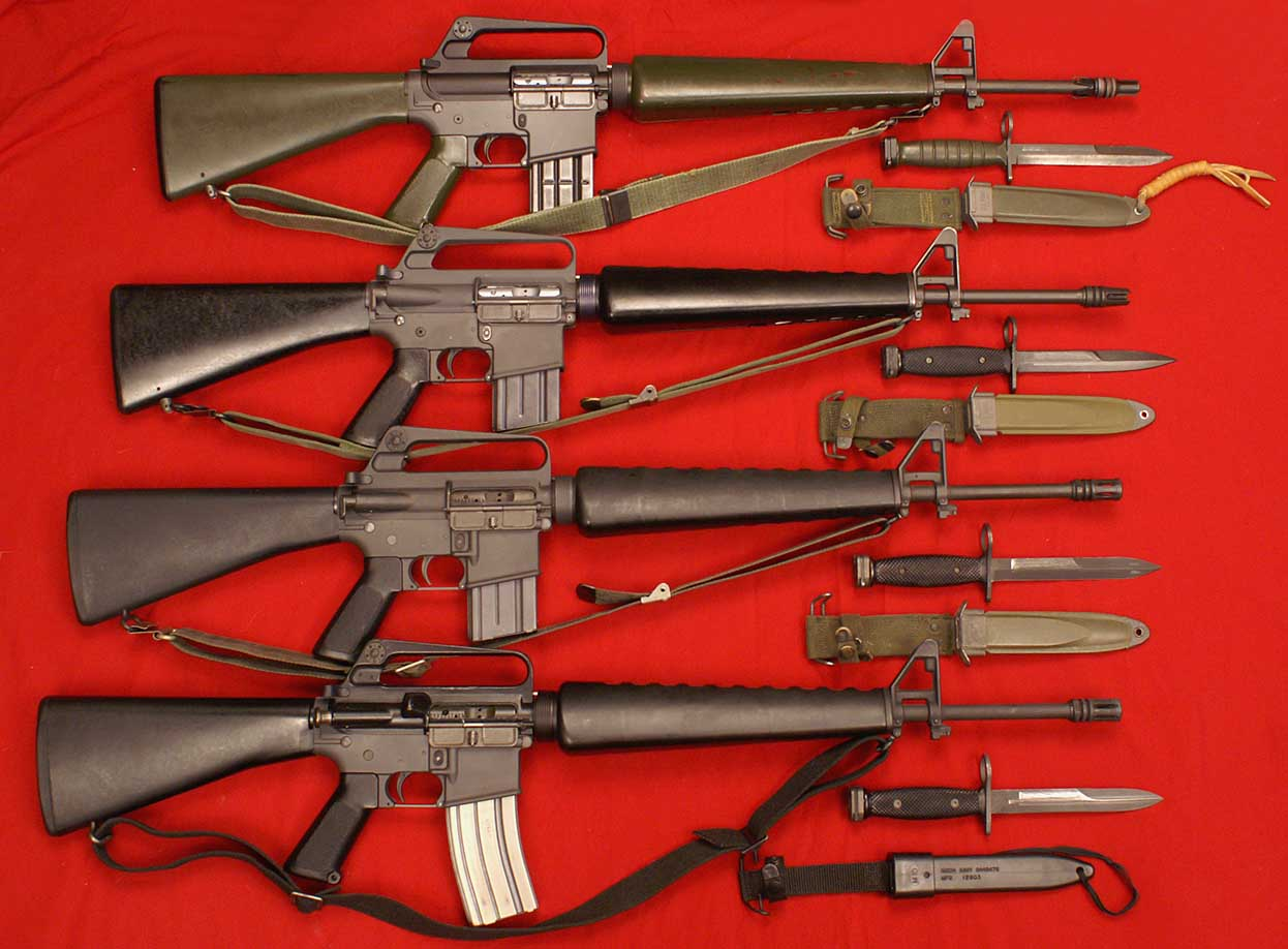 Photo 4 of 32, M16 replica collection group