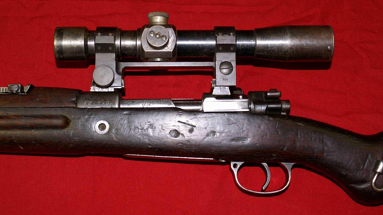 Vz24 Mauser Sniper (8mm)