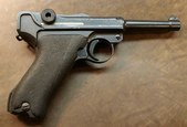 P08 Luger WW2 capture (9mm)