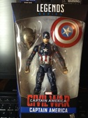 Captain America Marvel Legends BAF