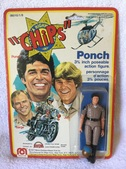 C*H*I*P*S* Action Figures By Mego Toys