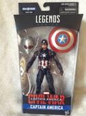Marvel Legends Captain America BAF