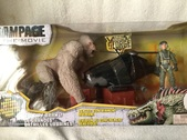 Rampage The Movie 2018 Action Figures