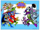 Super Powers Collection Kenner DC 1985
