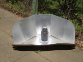 Solar water pasteurization