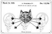Coro Patents - Figural Creatures