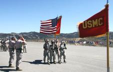 SERGEANTS MAJOR DABNEY & HENRY, USMC