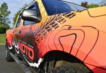 ADVMoto Truck Wrap