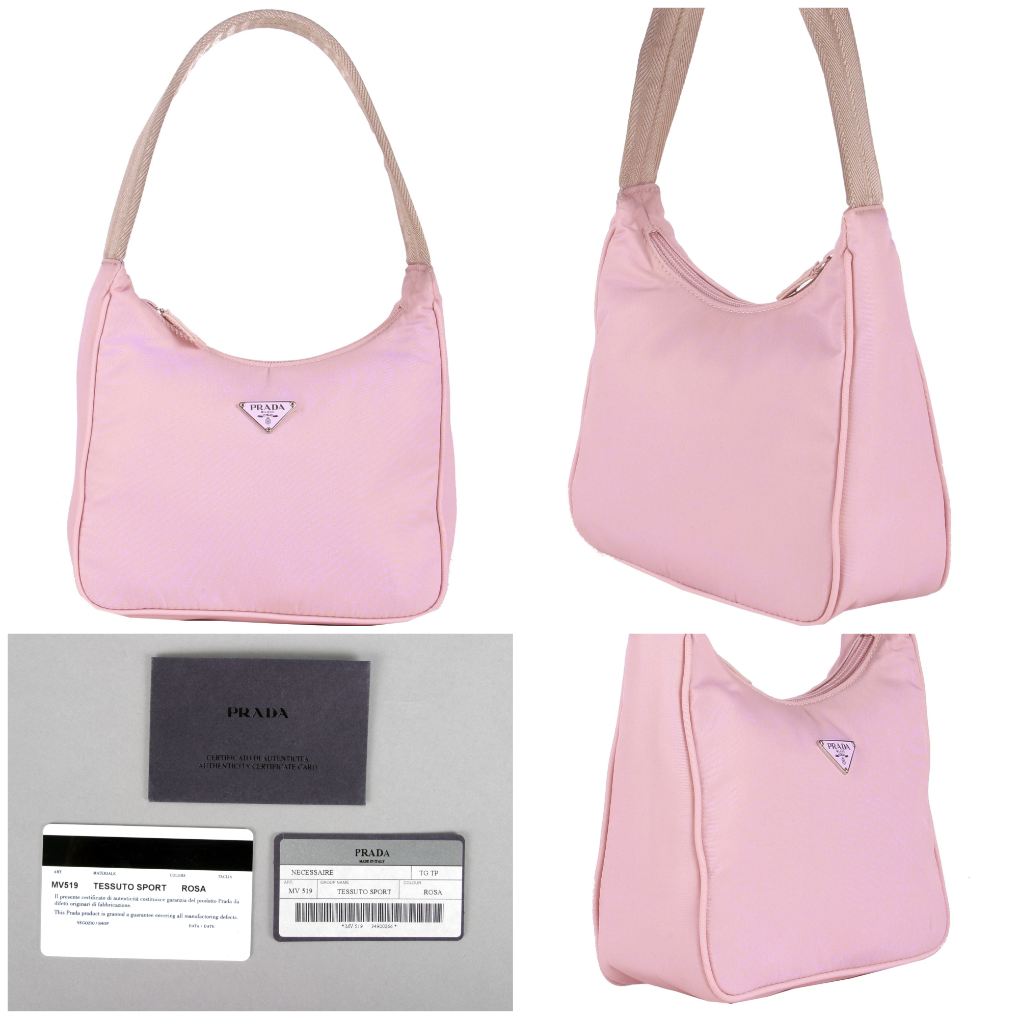 907071eac512c8 reduced prada saffiano lux galleria bag 3bb04 eb4ab; new arrivals details  about 250 prada bag in pink stunning color w authenticity cards f6f31 ff131