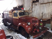 1945 Dodge WF-32 Fire Truck