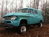 1965 Dodge Power Wagon Town Panel W100