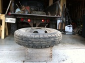 Dismounting Tires Budd Split Ring Wheels