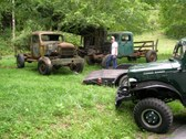 Loading Parts Truck with the 1950
