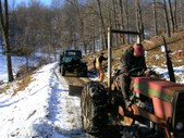 Logging with Power Wagon