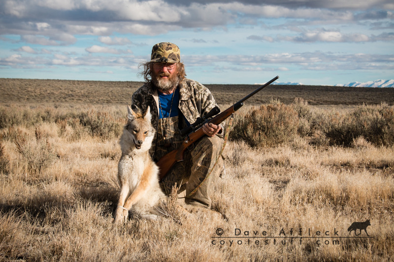 Tim and beautiful male coyote