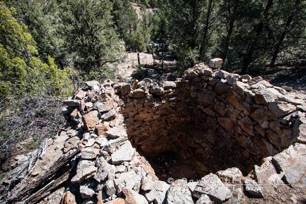 Cistern above arrastra