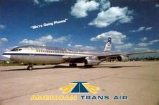 Set 10  American Transair- Australian Na
