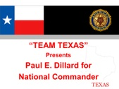 Paul Dillard Campaign