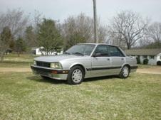 My 89 Peugeot 505 5 Speed turbo