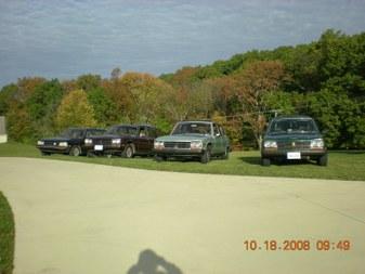Schlick's 2008 Car show
