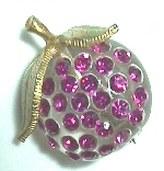 Forbidden Fruit Lucite Jewelry-Austria