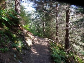 Matt's Alaska hiking trip