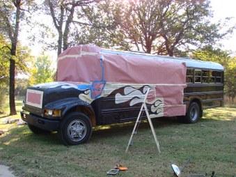Matt's school bus conversion project