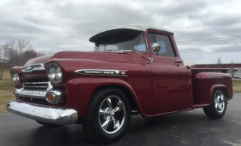 SOLD!   1959 Chevy Apache 3100 Series!