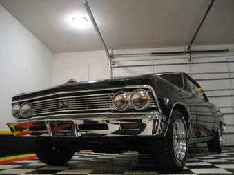 SOLD! 66 Chevelle SS Clone! 396/4 Spd!
