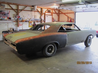 SOLD!!  66 GTO Vin# 242! Project Car!