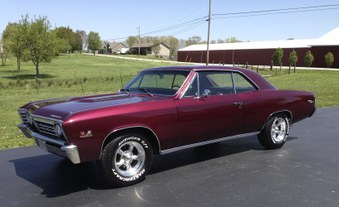Sorry Sold! 67 Chevelle Vin #138