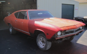 SOLD! 1968 SS Chevelle Body! Vin # 138