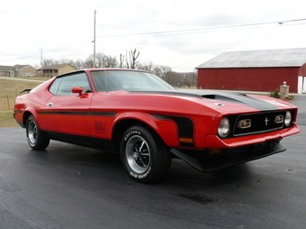 Sorry SOLD! 1971 Mach 1 Mustang!